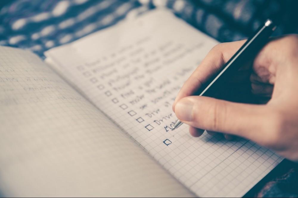 List Your Agenda