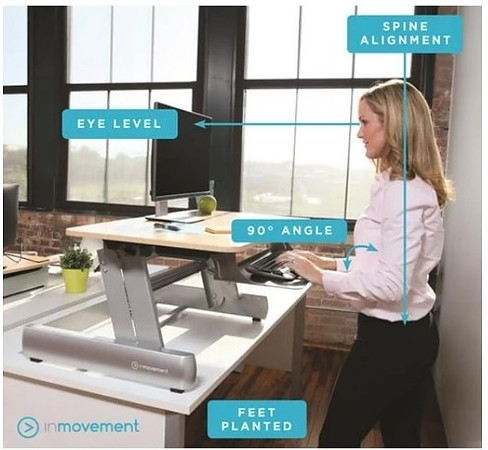 Standing Desk Decrease Back Pain and Improve Posture