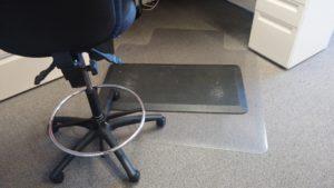 Damaged Anti Fatigue Mat