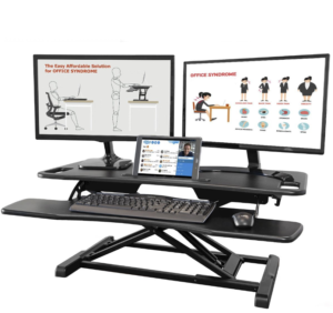 AdvanceUp 2-Tier 37 inches Extra Wide Standing Desk Converter