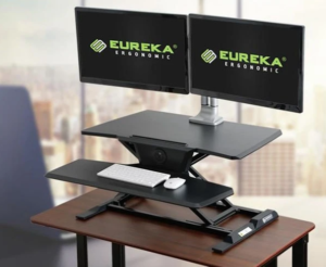 Eureka Ergonomic Electric Standing Desk Converter