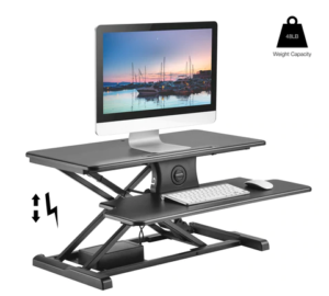 TechOrbits Electric Standing Desk Converter